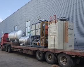 电加热导热油炉发货